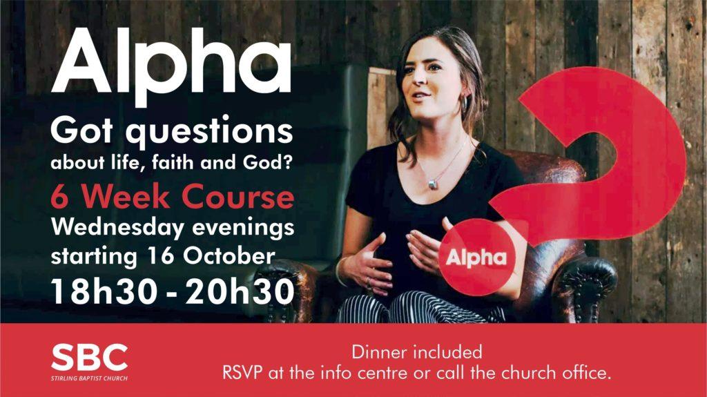 2nd Alpha Course - TV