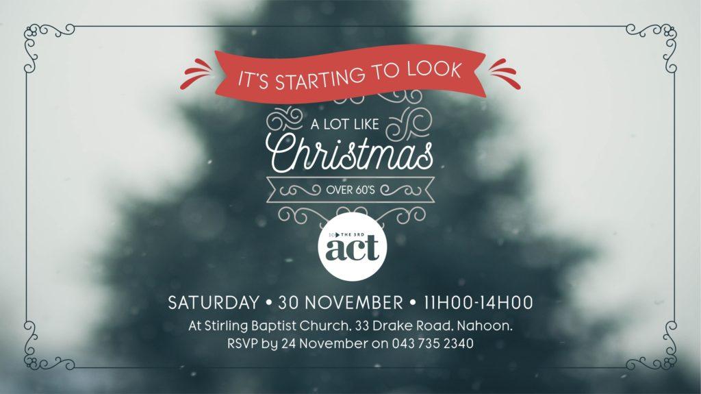3rd Act Christmas - TV