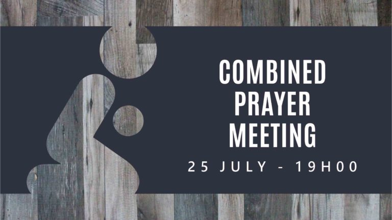 Combined Prayer Meeting Slide (TV)