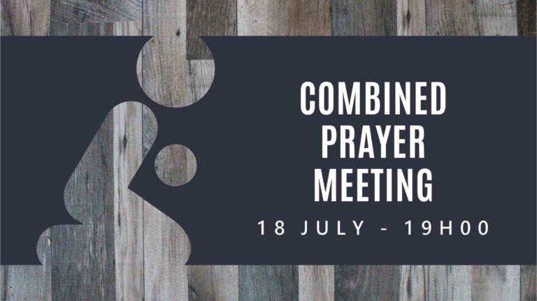 Combined Prayer Meeting Slide (TV)