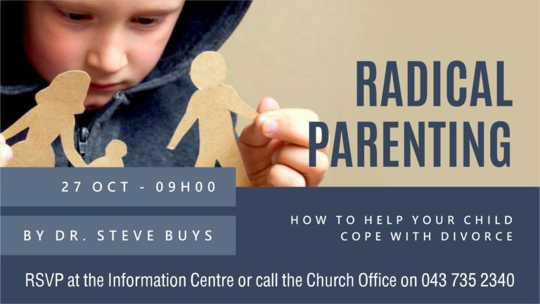 Radical Pareting - Helping you child cope with divorce - Slide (TV)